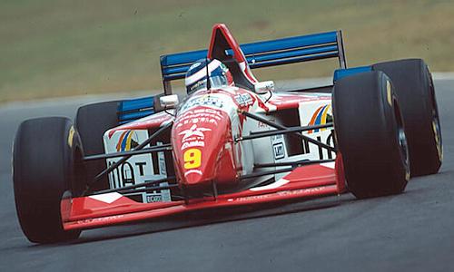 Arrows (Footwork), equipe histórica da Formula 1 de 1995 - by historyf1.narod.ru